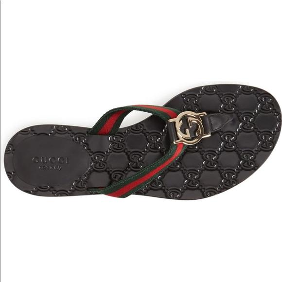 4c241adbd67 Gucci thong sandals 100% authentic